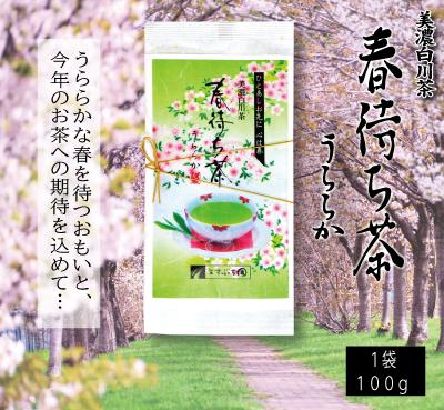 春待ち茶うららか商品紹介